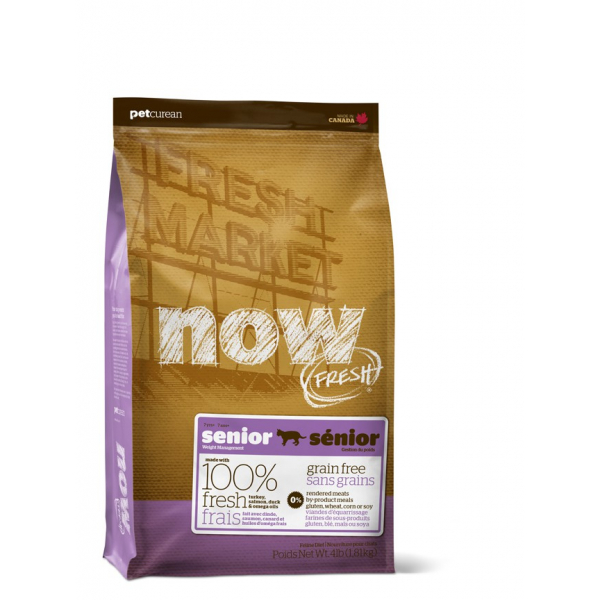 NOW FRESH SENIOR - Crocchette Gatto Grain Free