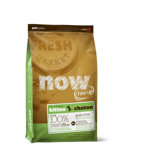 NOW FRESH KITTEN - Crocchette Gatto Grain Free