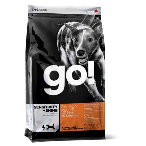 GO! SENSITIVITY + SHINE - CROCCHETTE CANE IPOALLERGENICO - SALMONE