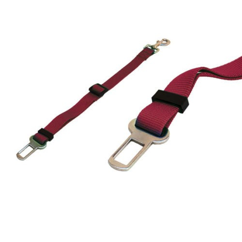 Cintura di Sicurezza Per Cani GRANATA