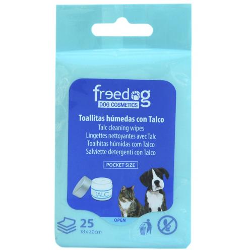 Salviette detergenti per Cani e Gatti  - TALCO