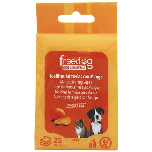 Salviette detergenti per Cani e Gatti - MANGO