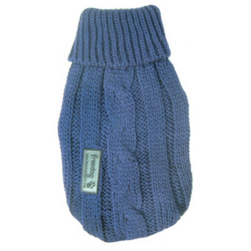 Cappottino per cane LANA NATURE - DENIM