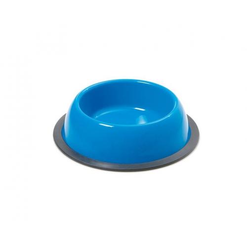 CIOTOLA tonda con antiscivolo SILVER - azzurra