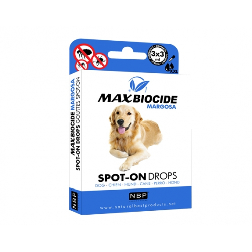 Antiparassitario Spot-on Naturale Neem per Cani oltre i 10 kg