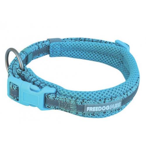 Collare Linea Pure in Tessuto Tecnico - Azzurro