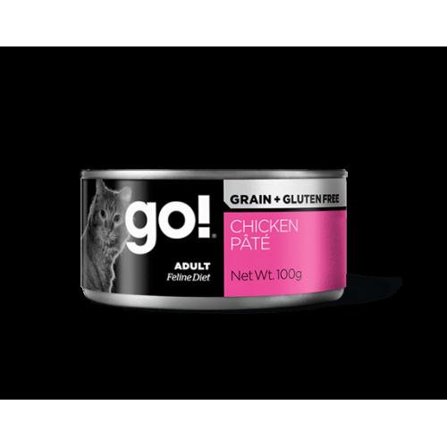GO! GRAIN+GLUTEN FREE - Patè di pollo - per gatti