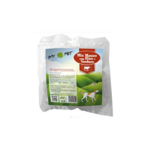 Pasto disidratato - MIX Manzo, riso e verdure - 100gr