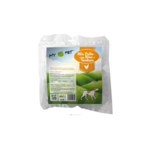 Pasto disidratato - MIX di manzo con riso e verdure - 100gr