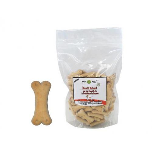 BISCOTTI per cani - PUPPY & JUNIOR - aroma vaniglia 500 g