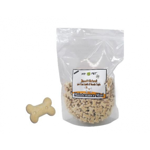 BISCOTTI per cani - Mantenimento MINI - aroma vaniglia 500 g
