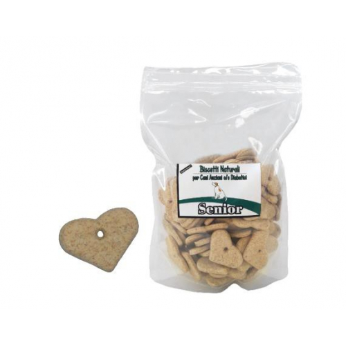 BISCOTTI per cani - SENIOR/DIABETICS - aroma vaniglia 500g